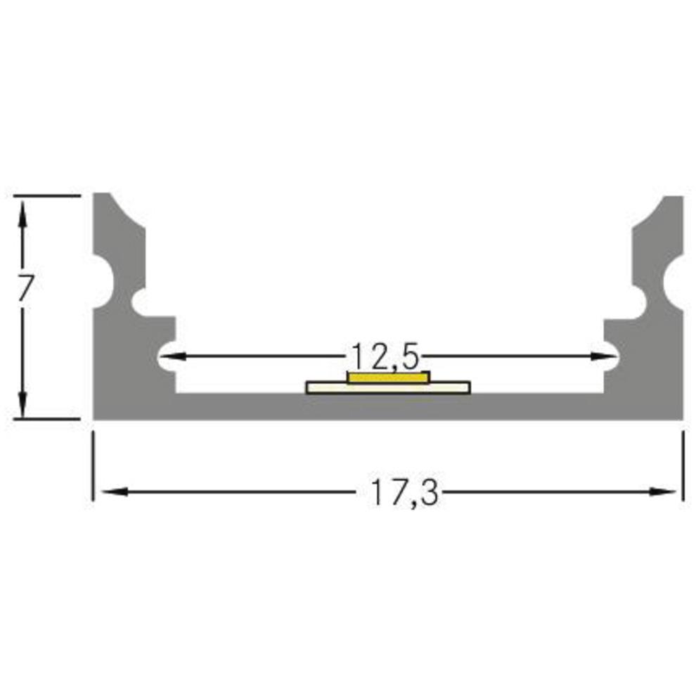 Produktbild Brumberg Alu-Profil-Set 17